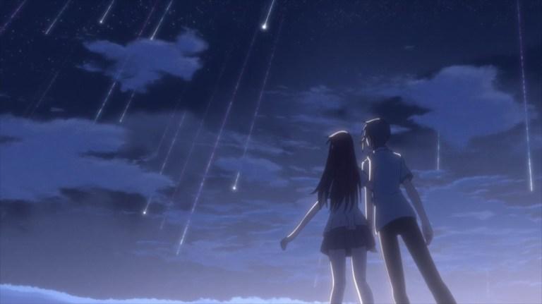 Fruits Basket Episode 32 Tohru and Yuki Shooting Stars