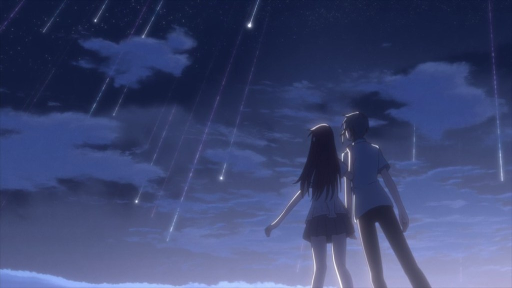 Fruits Basket Episode 32 Tohru and Yuki Shooting Stars