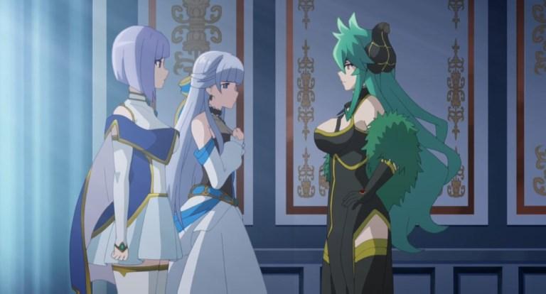 Shironeko Project ZERO Chronicle Episode 6 Sheama Iris and Lady Groza