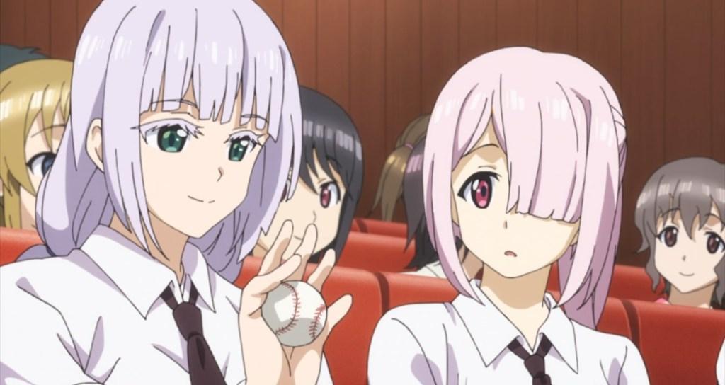 Tamayomi The Baseball Girls Episode 7 Ace Hitters Nakata Nao and Shugetsu You