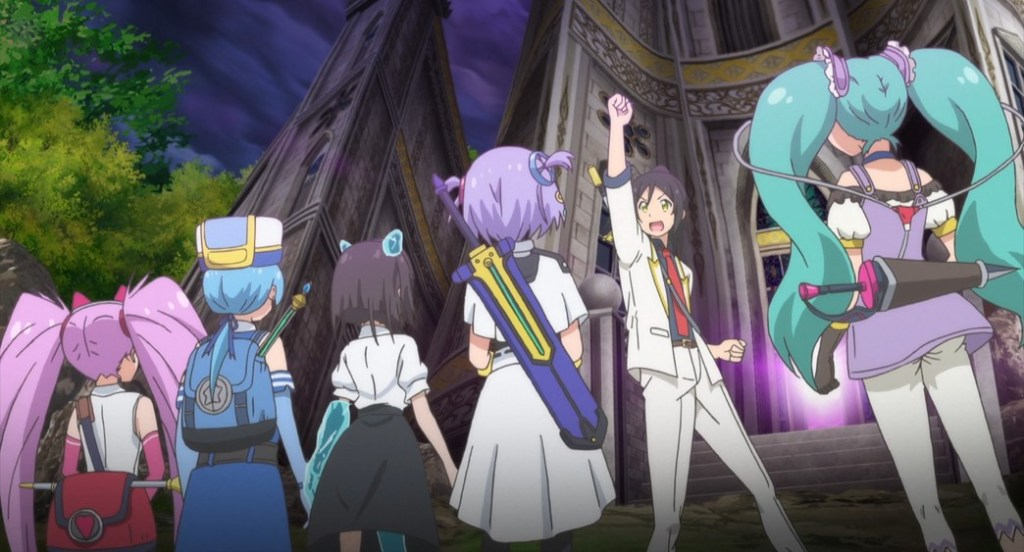 Shachibato President it's time for battle Episode 11 Kibou Company entering New Dungeon