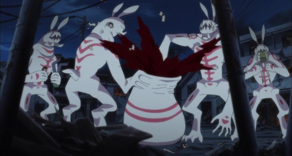 Blood C Episode 12 Artificial Elder Bairns