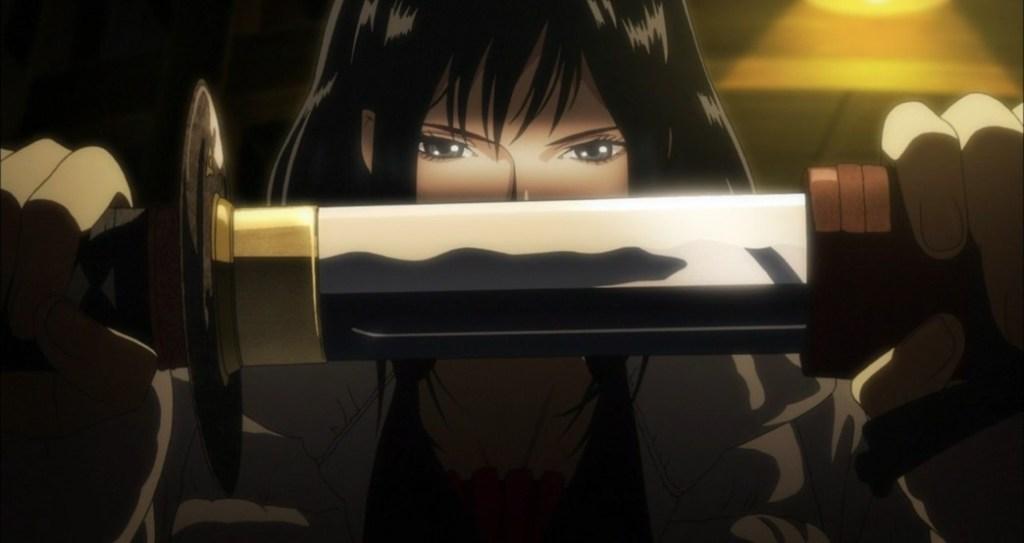 Blood C The Last Dark Saya Gets a Sword
