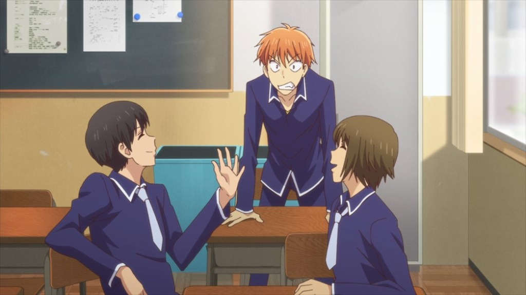 Fruits Basket Episode 45 Kyo finding out he's going to be Prince Charming