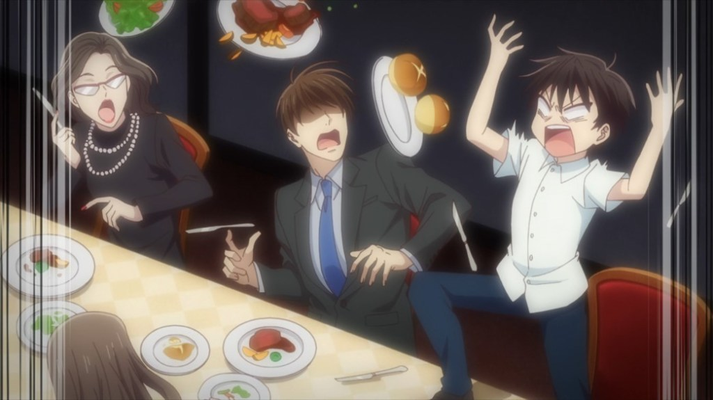 Fruits Basket Episode 45 Young Kakeru Flipping Out