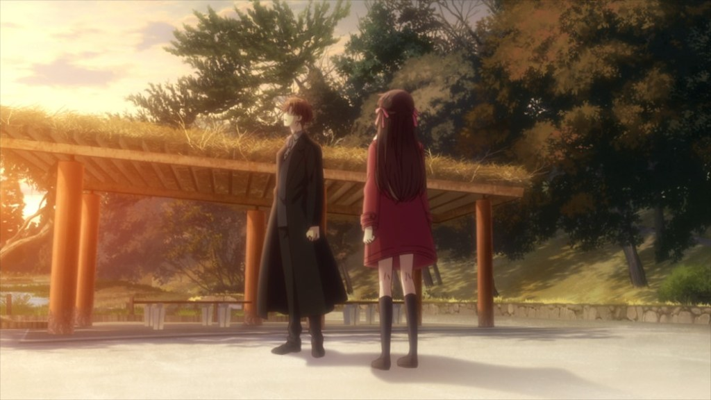Fruits Basket Episode 50 Kurome and Tohru