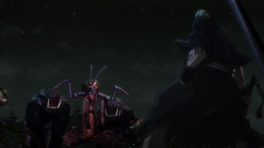 Gibiate Episode 8 Yukinojou protecting Kathleen