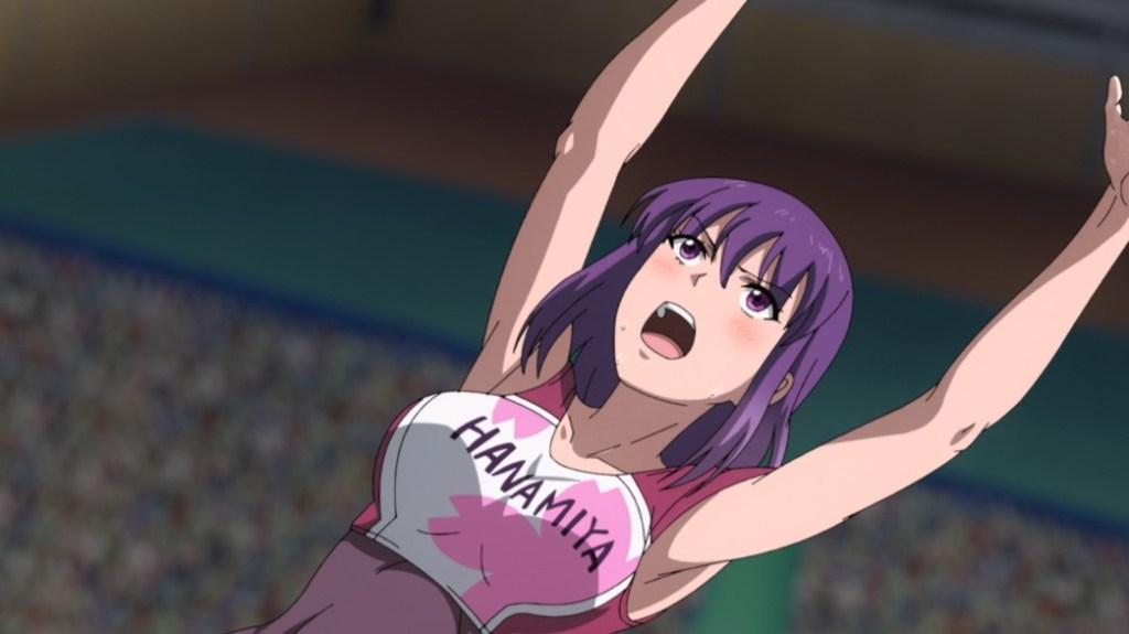 Iwa Kakeru Sport Climbing Girls Episode 2 Konomi feeling the pressure
