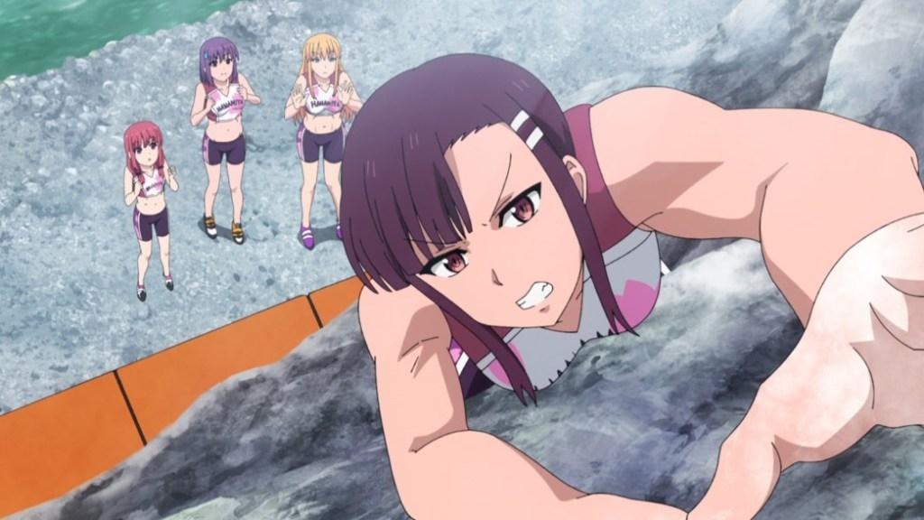 Iwakakeru Sport Climbing Girls Episode 3 Jun free climbing