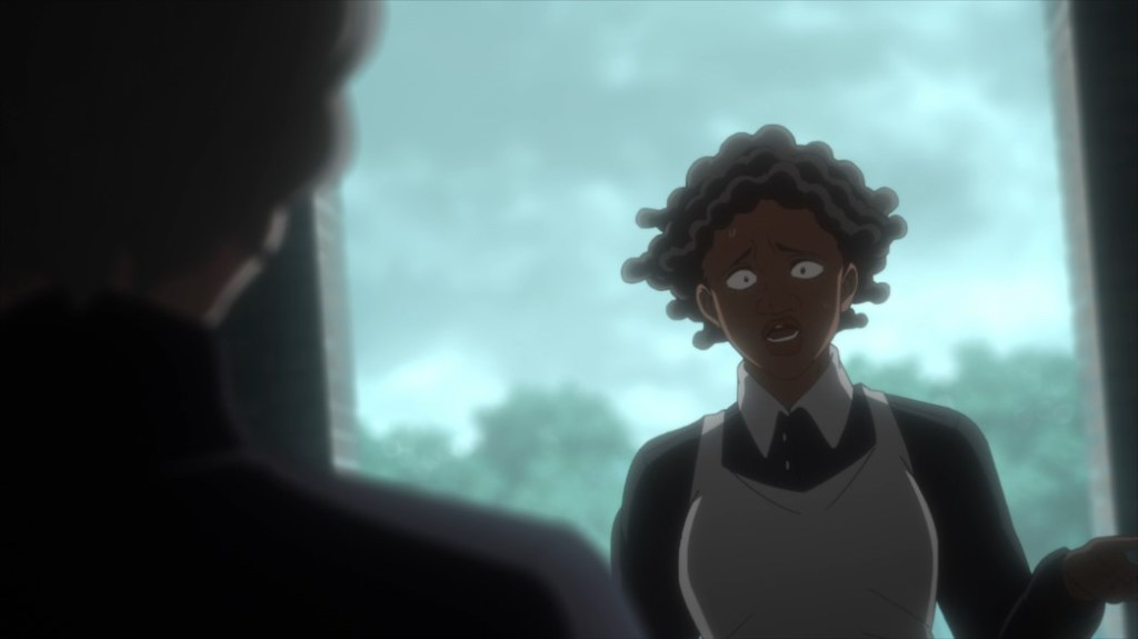 The Promised Neverland Episode 8 Sister Krone and Grandmother