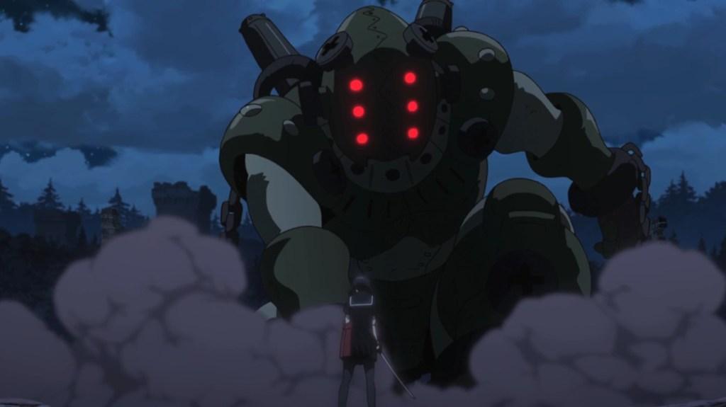 Akame ga Kill Episode 22 Kurome and Giant Danger Beast