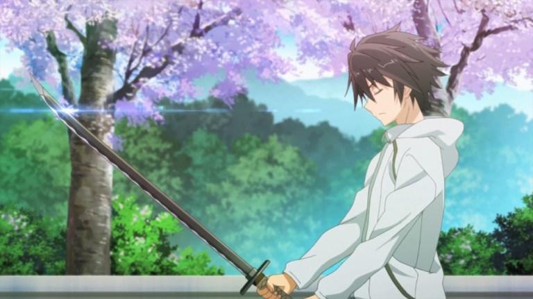 Chivalry of a Failed Knight Episode 1 Ikki Kurgane training