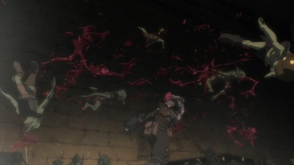 Goblin Slayer Episode 7 Goblin Slayer Attacks