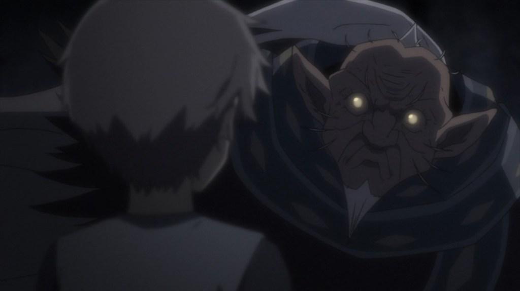 Goblin Slayer Episode 8 Young Goblin Slayer and his Master