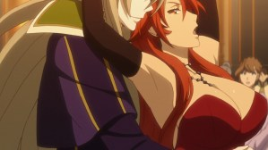 Record of Grancrest War Episode 6 Vlar Constance and Margaret Odius dancing