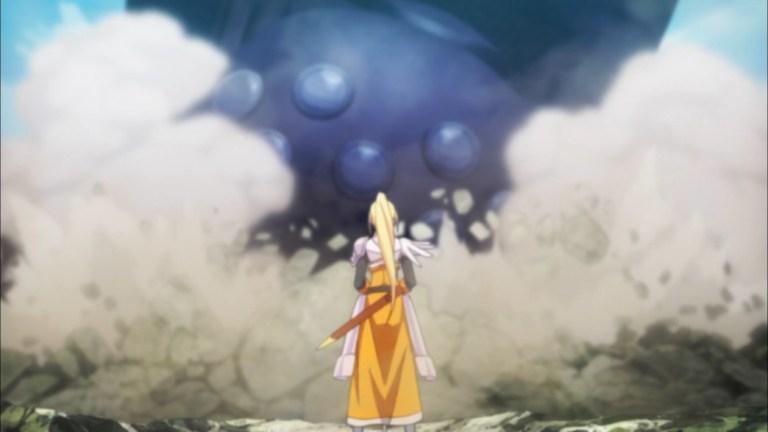 KonoSuba Episode 10 Darkness faces the Destroyer