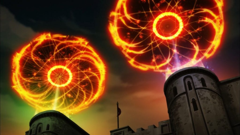 KonoSuba Episode 10 Megumin and Wiz Explosion