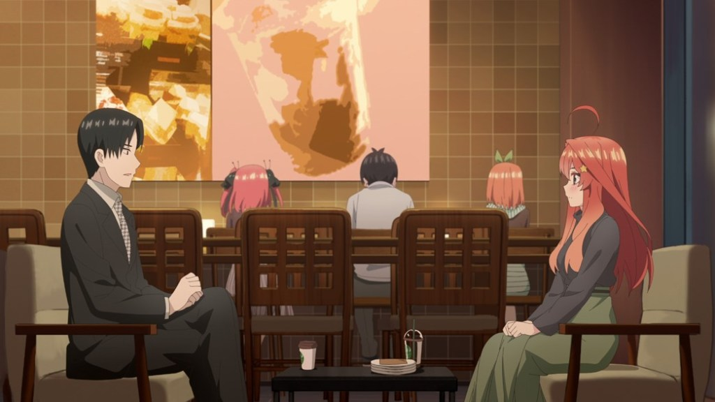 The Quintessential Quintuplets Episode 17 Itsuki meets with their Father