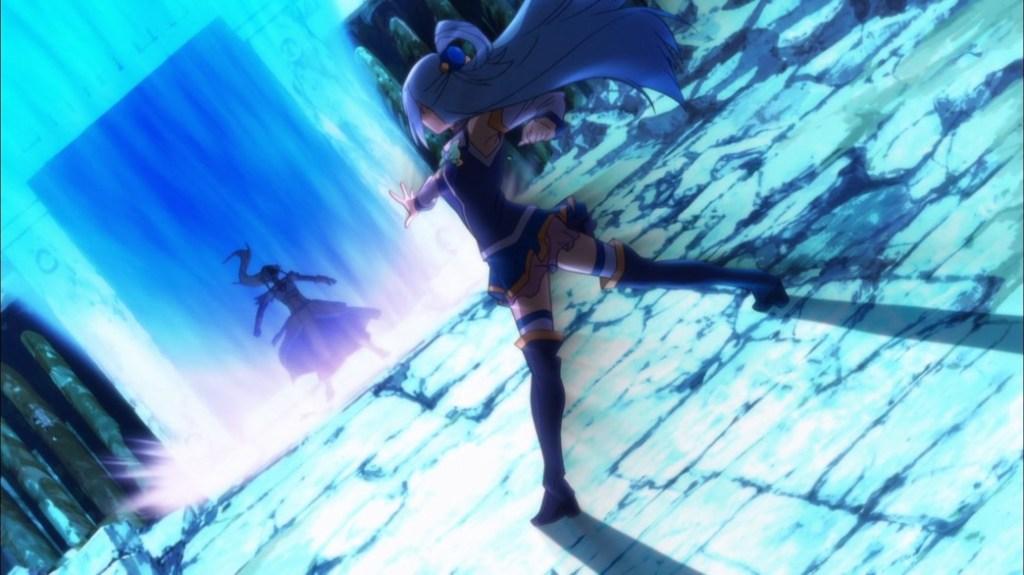 KonoSuba Episode 16 Aqua tries to purify Vanir