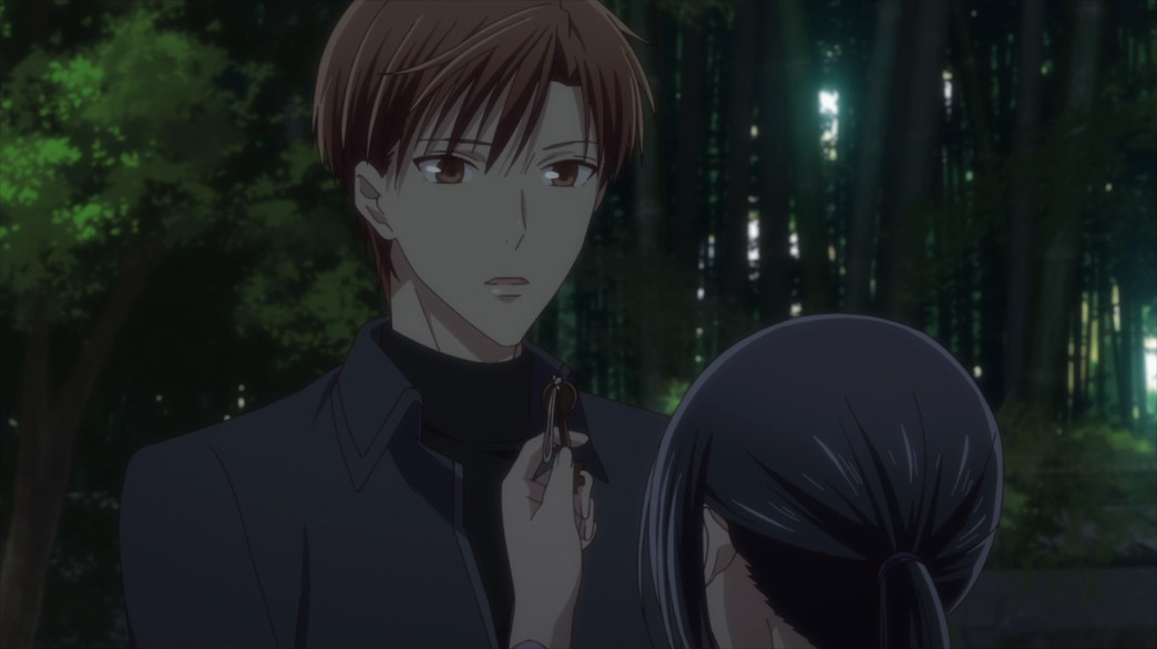 Fruits Basket Episode 54 Kureno finds Rin
