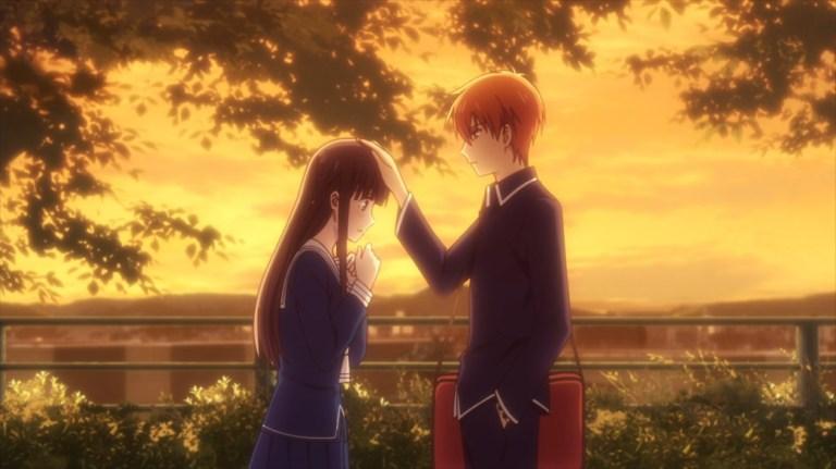 Fruits Basket Episode 56 Tohru and Kyo