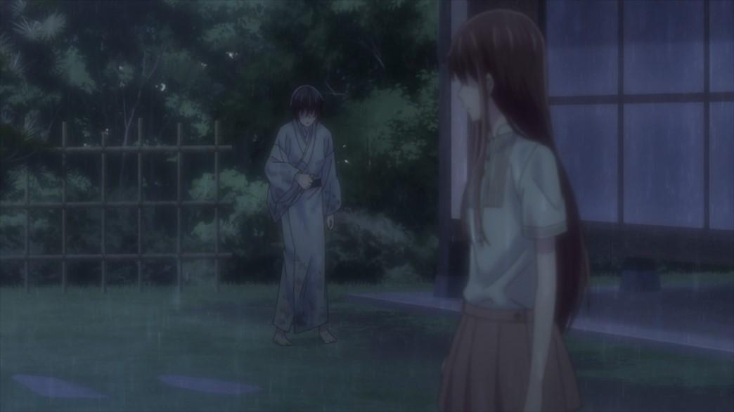 Fruits Basket Episode 58 Akito and Tohru
