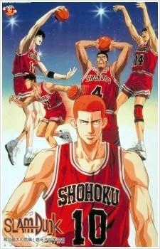 os melhores animes de esporte slam dunk