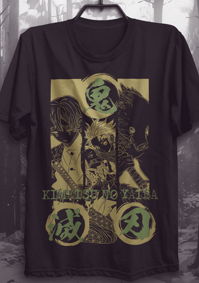 Camiseta Kimetsu no Yaiba - Camiseta Demon Slayer