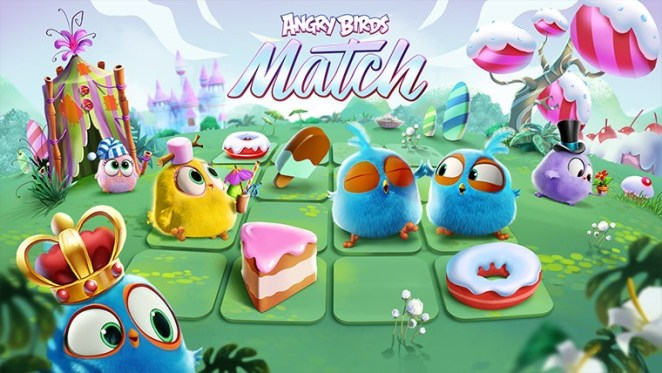 Angry Birds Match game for iphone 2018