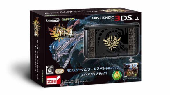 3DS XL Monster Hunter (Jap)