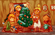 legend_of_zelda__a_family_christmas_by_telinkk-d6zab17