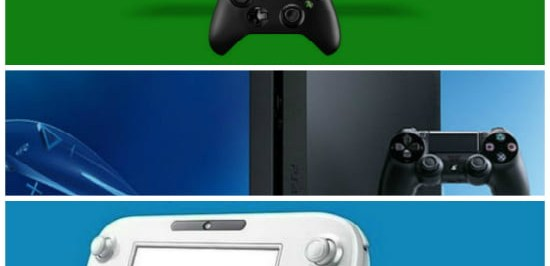 Xbox One vs PS4 vs Wii U