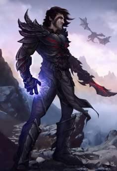 skyrim___the_dragonborn_by_patrickbrown-d4lz8tv