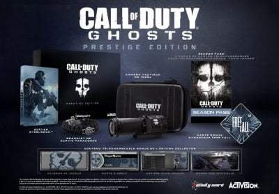 Call of Duty : Ghosts - édition prestige (68€98)