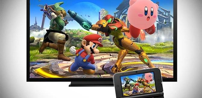 La 3DS pourra servir de manette à la Wii U dans Smash Bros !