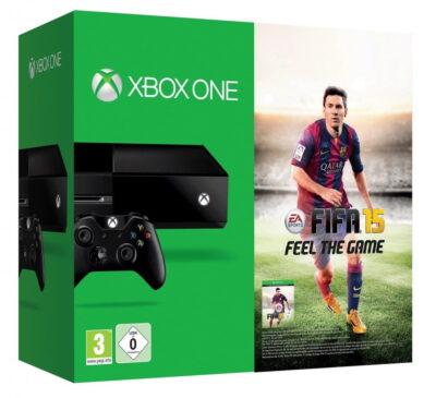 Xbox One + Fifa 15 pour 379€ !