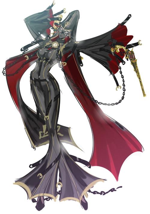 Bayonetta 2 Artwork