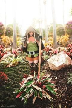 Cosplay de L'Elf de Dragon Crown par Remie