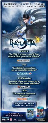 Les notes de Bayonetta 2. Ça en devient presque lassant ;-)