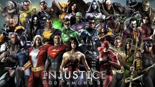 Injustice parmi les jeux gratuit du weekend !