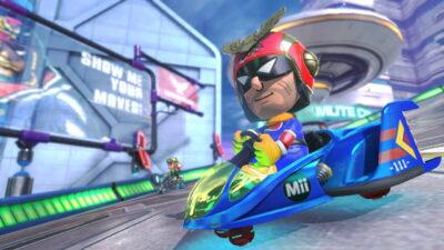 Quand Mario Kart 8 se transforme en F-Zero U...