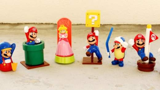 Mario revient chez McDonald's France