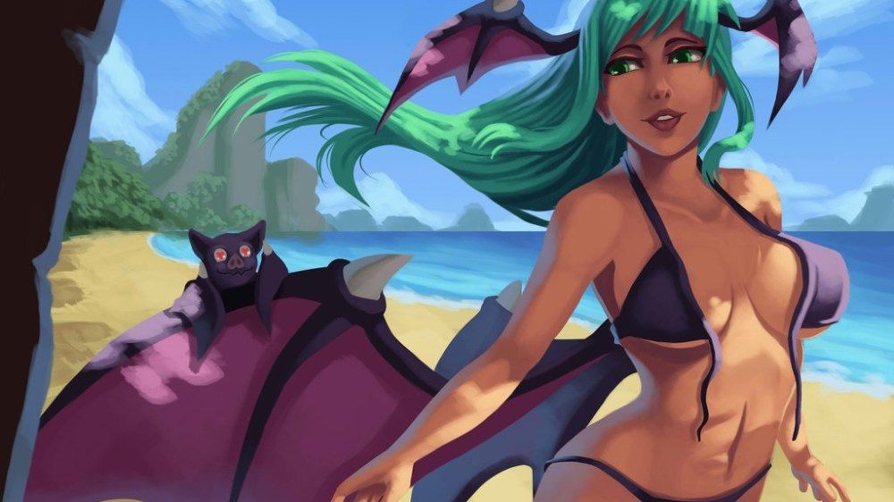 It's summer time with Morrigan !
