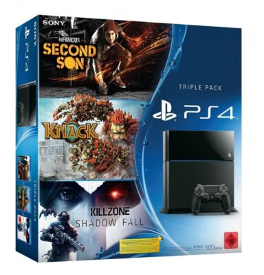 PS4 Triple Pack allemande à 416€ !