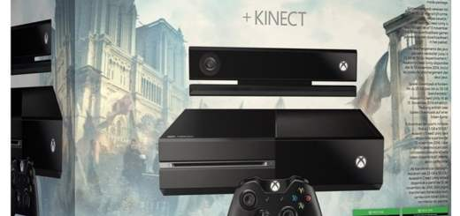 Xbox One + Kinect + Assassin's Creed Black Flag et Unity
