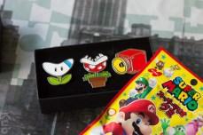 Mes broches Mario Kart 8 du Club Nintendo