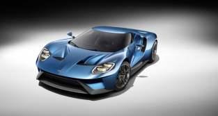 La Ford GT dans le mode Autovista
