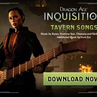 Inquisition Tavern Songs gratuit jusqu'au 9 février !