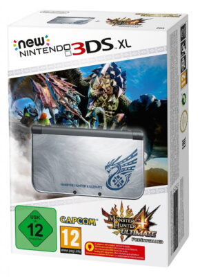Voir la new 3DS XL édition collector Monster Hunter 4