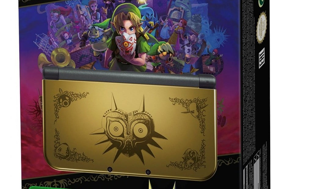 Voir la new 3DS XL Majora's Mask